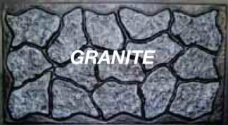 Mason&#39s Rock panel 48 in. X 5 ft. slate grey skirting panels