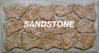 K-Rock Panel 32 in. X 5 ft. sandstone skirting panels