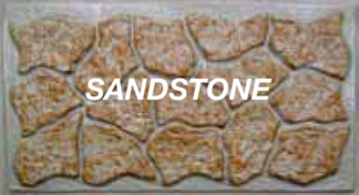 K-Rock panel 48 in. X  5 ft. sandstone skirting panels