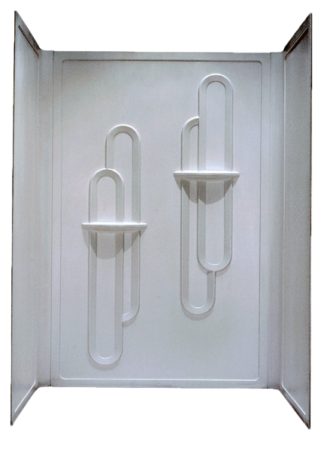 Better Bath 3 piece Surround Permalux for 28x54 Shower Pan