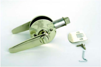 Privacy Lever Lock Stainless Steel Finish