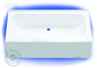 Fiberglass Bathtub 27 x 54 Center Drain Bone Finish