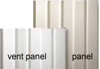 Eagle c-vent skirting panels grey Style Crest sold carton of 12