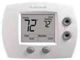 Thermostat Focus Pro TH5220 Series Digital Non Programmable